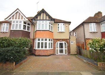 Thumbnail 3 bed semi-detached house for sale in Pauline Crescent, Twickenham
