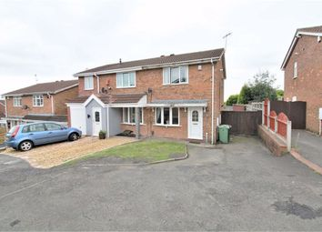 Thumbnail 2 bed semi-detached house for sale in Brelades Close, Milking Bank, Dudley
