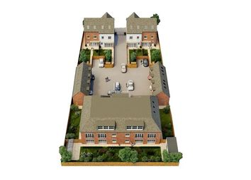 Thumbnail 2 bed flat for sale in Belsize Close, Godalming