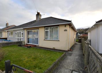 Thumbnail 2 bed semi-detached bungalow for sale in Laira Park Crescent, Plymouth, Devon