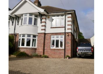 Thumbnail 4 bed semi-detached house for sale in Uphill Road South, Uphill, Nr. Weston-Super-Mare