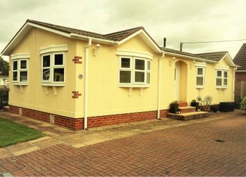 Thumbnail 3 bed mobile/park home for sale in Fairholme Park, Ollerton, Newark