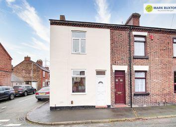 Thumbnail 2 bed end terrace house for sale in Hardman Street, Milton, Stoke On Trent