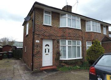 Thumbnail 3 bed semi-detached house to rent in Bullhead Road, Borehamwood