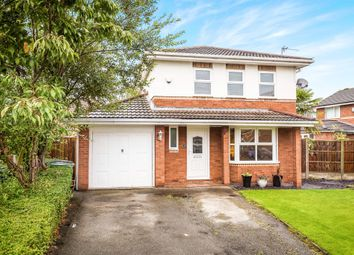 Thumbnail 4 bed detached house for sale in Kinnerton Close, Moreton, Wirral