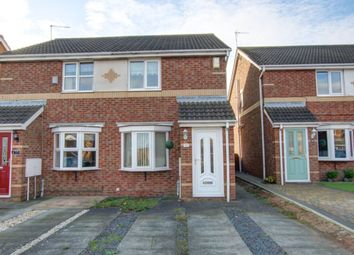 Thumbnail 2 bed semi-detached house for sale in Cheviot Gardens, Seaham