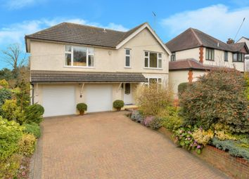 Thumbnail 4 bed detached house for sale in Harpenden Road, St.Albans