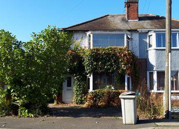 Thumbnail 3 bed semi-detached house for sale in Burlington Road, Skegness