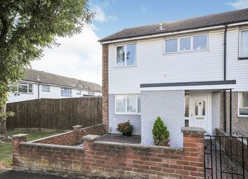 Thumbnail 2 bed end terrace house for sale in Conifer Way, Swanley, Kent