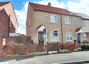 Thumbnail 2 bed terraced house for sale in Shinewater Park, Kingswood, Hull