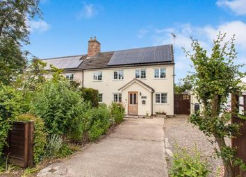 Thumbnail 3 bed semi-detached house for sale in Knapwell, Cambridge, Cambridgeshire