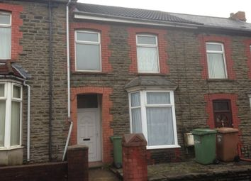 Thumbnail 2 bed flat to rent in First Floor Flat, High Street, Abertridwr