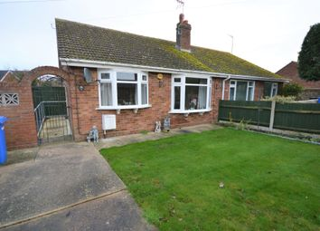 Thumbnail 2 bed semi-detached bungalow for sale in Whites Lane, Kessingland, Suffolk
