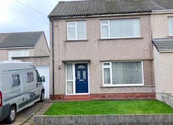 Thumbnail 3 bed semi-detached house for sale in Hawthorn Avenue, Maryport, Cumbria
