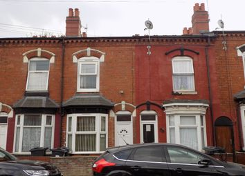 Thumbnail 3 bed terraced house for sale in Thornhill Road, Sparkhill, Birmingham
