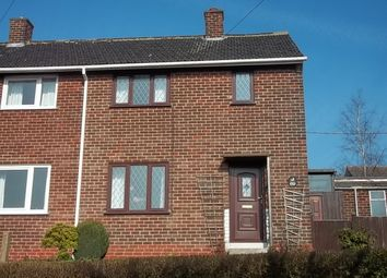 Thumbnail 2 bed semi-detached house to rent in Treetown Crescent, Treeton, Rotherham