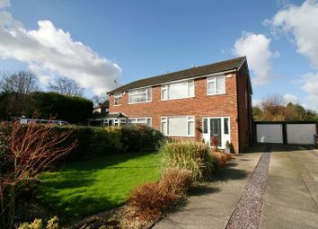 Thumbnail 3 bed semi-detached house for sale in Rands Clough Drive, Worsley, Manchester
