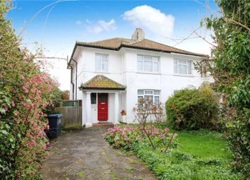Thumbnail 3 bed semi-detached house for sale in Lavington Road, Broadwater, Worthing