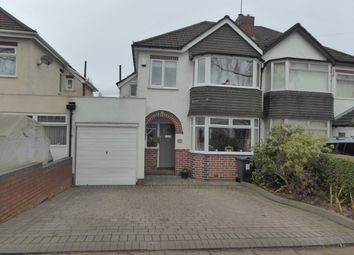 Thumbnail 3 bed semi-detached house for sale in Chelston Road, Northfield, Birmingham