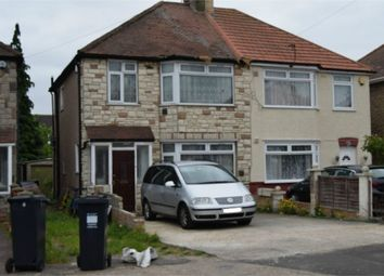 Thumbnail 3 bed semi-detached house for sale in Ferndale Avenue, Hounslow, Greater London