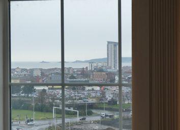 Thumbnail 1 bed flat to rent in Kilvey Terrace, Swansea