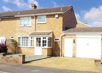 Thumbnail 3 bed semi-detached house for sale in Eagle Close, Birds Estate, Larkfield, Kent