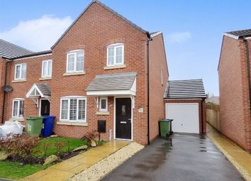 Thumbnail 3 bed town house for sale in Rudyard Way, Cannock, Staffordshire