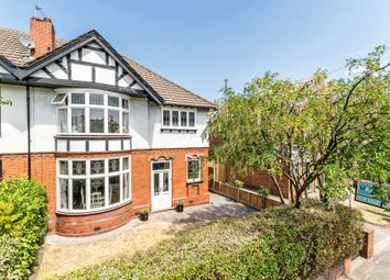 Thumbnail 4 bed semi-detached house for sale in Higher Knutsford Road, Stockton Heath, Warrington