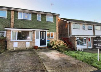 Thumbnail 3 bed semi-detached house for sale in Valley Drive, Seaford, East Sussex