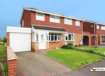 Thumbnail 3 bedroom semi-detached house for sale in Langmead Close, Walsall