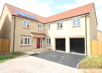 Thumbnail 5 bed detached house for sale in Plot 56 Thirsk, Thorney Meadows, Thorney, Peterborough