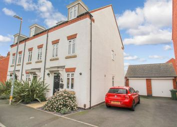 Thumbnail 3 bed town house for sale in Linkfield Road, Mountsorrel, Loughborough