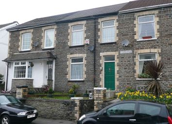 Thumbnail 1 bed terraced house to rent in Neath Road, Abergarwed