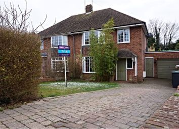 Thumbnail 4 bed semi-detached house to rent in Hillside Avenue, Canterbury