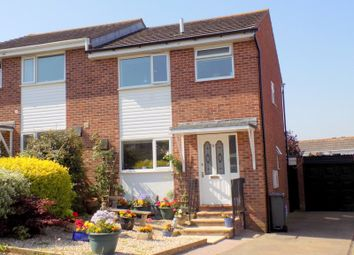 Thumbnail 3 bed semi-detached house for sale in Cedar Close, Exmouth, Devon
