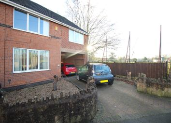 Thumbnail 4 bed semi-detached house for sale in West Cross Avenue, Stapleford, Nottingham