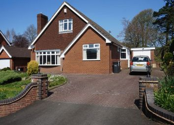 Thumbnail 4 bed detached house for sale in Herm Close, Westlands, Newcastle, Staffordshire