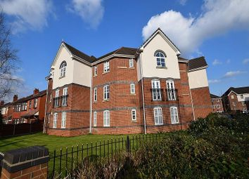 Thumbnail 2 bed flat for sale in Printers Close, Heaton Mersey, Stockport