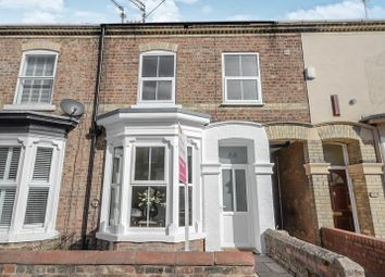 Thumbnail 3 bed terraced house for sale in Vyner Street, York
