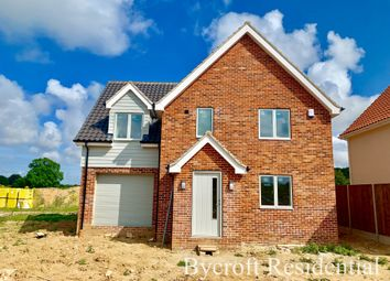 Thumbnail 3 bed detached house for sale in Tower Road, Fleggburgh, Great Yarmouth