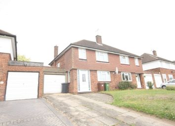 Thumbnail 3 bed semi-detached house for sale in Park Avenue, Bushey, Hertfordshire