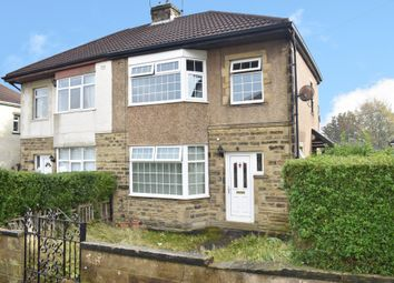 Thumbnail 3 bed semi-detached house for sale in Leafield Avenue, Eccleshill, Bradford