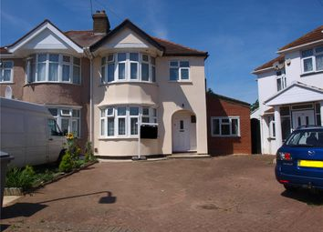 Thumbnail 5 bed semi-detached house for sale in Stewart Close, Kingsbury, London