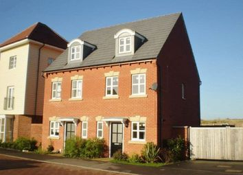 Thumbnail 3 bedroom semi-detached house for sale in Shore View, Hampton Hargate, Peterborough
