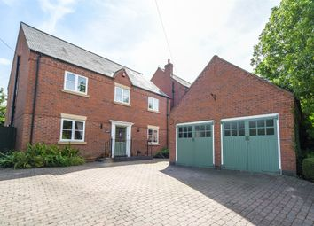 Thumbnail 5 bed detached house for sale in Mill Road, Thurcaston, Leicester