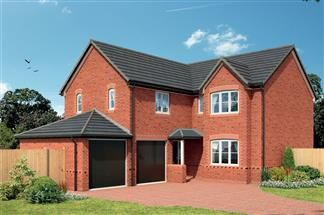 Thumbnail 5 bed detached house for sale in Crewe Road, Winterley