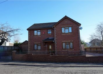 Thumbnail 4 bed detached house for sale in Penderyn Road, Hirwaun, Aberdare
