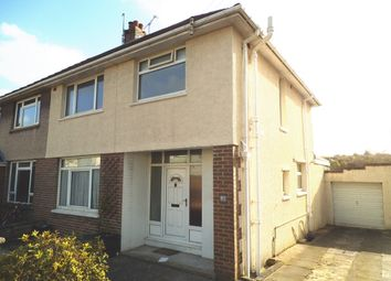 Thumbnail 3 bed semi-detached house for sale in Parkfields Road, Bridgend