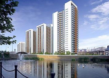 Thumbnail 1 bed flat to rent in Proton Tower, 8 Blackwall Way, Docklands, London