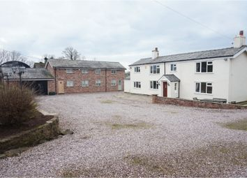 Thumbnail 4 bed farmhouse for sale in Peck Mill Lane, Helsby